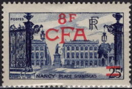 REUNION CFA Poste 301 * MLH Place Stanislas à NANCY (CV 23,00 €) - Unused Stamps