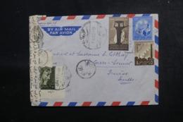 EGYPTE - Enveloppe Pour La Suisse En 1960 Avec Contrôle Postal , Affranchissement Plaisant - L 47914 - Égypte