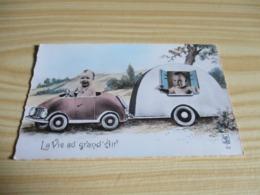 La Vie Au Grand Air. - Cartes Humoristiques