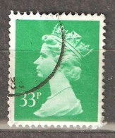 Great Britain: 1 Used Stamp From A Set, 1990, Mi#1289 - Série 'Machin'