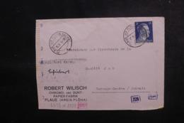 ALLEMAGNE - Enveloppe Commerciale De Plaue Pour La Suisse En 1944 Avec Contrôle Postal - L 47916 - Allemagne