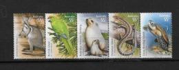 Australie N°3125 à 3129** Faune En Voie De Disparition - Schildpadden
