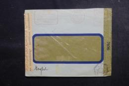 EGYPTE - Enveloppe Commerciale Du Caire  En 1943 Avec Contrôles Postaux - L 47918 - Covers & Documents