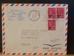 A11/872 LETTRE POUR LA BELG. 1971 - Réunion (1852-1975)