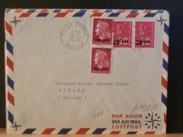 A11/873 LETTRE POUR LA BELG. 1971 - Réunion (1852-1975)