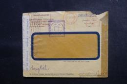 EGYPTE - Enveloppe Commerciale Du Caire En 1943 Avec Contrôles Postaux - L 47922 - Covers & Documents