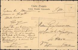 Cachet Corps Expéditionnaire D'Orient Place D'Alexandrie CAD Alexandrie Egypte 24 Se 1915 FM CPA Native Woman Seins Nus - Marcophilie (Lettres)