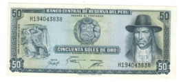 Peru 50 Soles De Oro, 1975 , UNC. - Perú