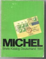Michel-Deutschland-Katalog 1991 Catalogue Allemagne Timbres - Germania
