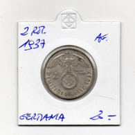 "Germania - 1937 - 2 Reichsmark - ""A"" - Argento - (MW2667) - [ 4] 1933-1945 : Troisième Reich"