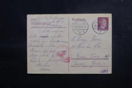 ALLEMAGNE - Entier Postal De Augsburg Pour La Suisse En 1944 Avec Contrôle Postal - L 47925 - Allemagne
