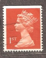 Great Britain: 1 Used Stamp From A Set, 1990, Mi#1282CDo - Machins