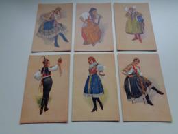 Beau Lot De 10 Cartes Postales De Tsjeque  Czech  Tsjechie  Tsjechië - Kyjova  Detvy  Ostroha Pizne  Pistan  Ostroha - Postkaarten