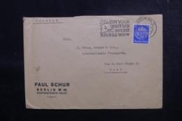 ALLEMAGNE - Enveloppe Commerciale De Berlin Pour La Suisse En 1940 Avec Contrôle Postal - L 47929 - Allemagne