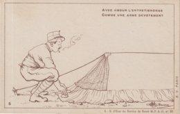 FRANCE : CARTE ANTIPALUDEENNE . SEPIA . N° 5 . 1914/1918 . - Guerra De 1914-18