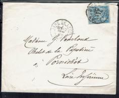 Fr - 1888 - Type Sage 15 C. Sur Enveloppe De Lyon, Pour Pornichet - B/tb - - Postmark Collection (Covers)