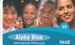 United Kingdom  - Tele2 - Alpha Blue - United Kingdom