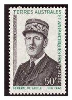 Timbre N° 46neuf **Général DE GAULE - Terre Australi E Antartiche Francesi (TAAF)