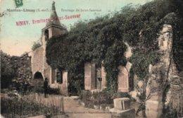 CPA   78   MANTES-LIMAY---ERMITAGE DE ST-SAUVEUR---1911 - Mantes La Ville