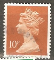 Great Britain: 1 Used Stamp From A Set, 1990, Mi#1283C - Série 'Machin'