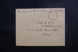 FRANCE - Enveloppe D'un Soldat Pour Paris En 1953, Affranchissement Vietnam Au Verso - L 47930 - Postmark Collection (Covers)