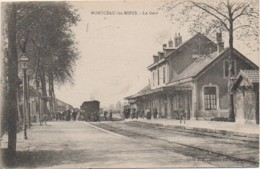 71 MONTCEAU-les-MINES   La Gare - Estaciones Con Trenes