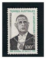 Timbre N° 47 Neuf **Général DE GAULE - Terre Australi E Antartiche Francesi (TAAF)