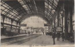 21 DIJON   Sous Gare - Estaciones Con Trenes