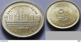 EGYPT - Recently Issued 50 Piastres 2019 -the New Alameen City - Egypt