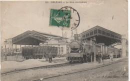 4 5 ORLEANS La Gare Des Aubrais - Estaciones Con Trenes