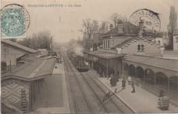 78 MAISON-LAFFITTE  La Gare - Estaciones Con Trenes