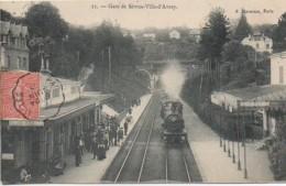 92 Gare De SEVRES- VILLE-D'AVRAY - Estaciones Con Trenes