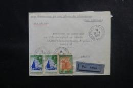 VIÊTNAM - Enveloppe De Thủ Dầu Một Pour La France En 1958, Affranchissement Plaisant - L 47931 - Viêt-Nam