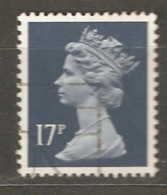 Great Britain: 1 Used Stamp From A Set, 1990, Mi#1284C - Machins