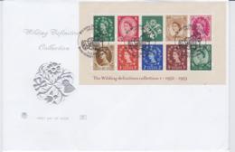 Great Britain FDC 2003 The Wilding Definitive Souvenir Sheet - Bond Street (NB**LAR8-61A) - Briefmarken Auf Briefmarken