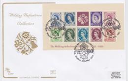 Great Britain FDC 2003 The Wilding Definitive Souvenir Sheet - Windsor (NB**LAR8-61A) - Briefmarken Auf Briefmarken