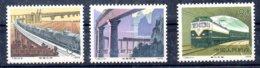 China Serie Completa N ºYvert 2278/80 ** TRENES (TRAIN) Valor Catálogo 4.5€ - Nuevos