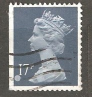 Great Britain: 1 Used Stamp From A Set, 1990, Mi#1284Dl(2) - Série 'Machin'