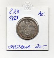 """Germania - 1939 - 2 Reichsmark - """"G"""" - Argento - (MW2669) - [ 4] 1933-1945 : Troisième Reich"""