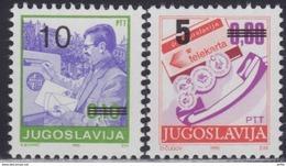 Yugoslavia 1991 Definitive Stamps, MNH (**) Michel 2518-2519 - 1945-1992 Socialist Federal Republic Of Yugoslavia