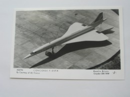 Carte Postale  CONCORDE AIR FRANCE - AM790 Concorde F- BVFA  **** EN ACHAT IMMEDIAT **** - 1946-....: Modern Tijdperk