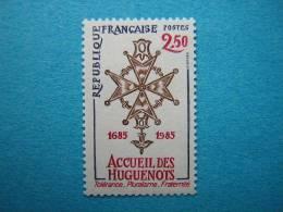FRANCE /  N° 2380  NEUF**  REVOCATION DE L'EDIT DE NANTES. - Storia