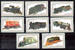 Granada Granadinas Serie Completa N ºMichel 1585/92 ** TRENES (TRAIN) Valor Catálogo 15.0€ - Grenada (1974-...)