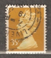 Great Britain: 1 Used Stamp From A Set, 1991, Mi#1360 - Série 'Machin'