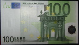 100 EURO  J008H1 Italy Serie S DUISENBERG Perfect UNC - EURO