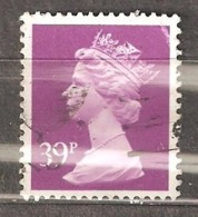 Great Britain: 1 Used Stamp From A Set, 1991, Mi#1361 - Machins