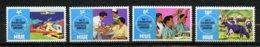 Niue, Yvert 137/140**, Scott 151/154**, SG 170/173**, MNH - Niue
