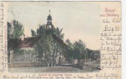 Gruss Aus Sternberg - Neustädterstrasse - Oesterr.Frankatur - Int. Stempel - 1903            (A-133-190422) - Tschechische Republik