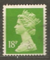 Great Britain: 1 Used Stamp From A Set, 1992, Mi#1419(2) - Série 'Machin'