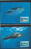 WWF-NAURU- OCEANIE - FISH- Stamps +4 FDC + 4 MAX - THEMA DIEREN - WILD LIFE - ANIMALS - VISSEN - Nauru